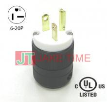 NEMA 6-20P 美規直立刀片式插頭