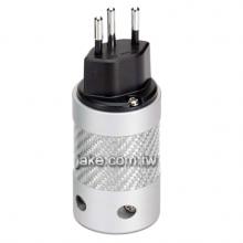 銀色烤漆,銀色碳纖維外殼,鍍銀瑞士規音響級電源插頭