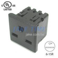NEMA 6-15R 美規機櫃1U插座