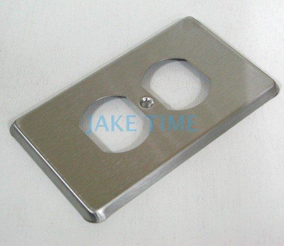 不鏽鋼蓋板(雙孔.雙聯插座適用)