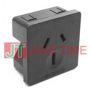 澳規澳式1U size 45mm*45mm 機櫃電源插座(15A)